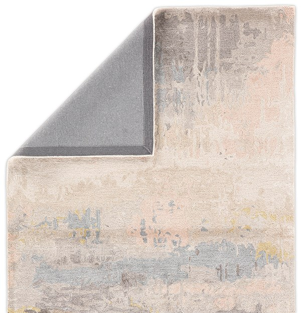 Blush, Light Blue (GES-17) Abstract Area Rug