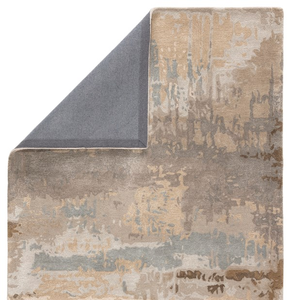Brown, Grey (GES32) Abstract Area Rug