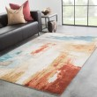 Product Image of Blue, Red (GES-30) Abstract Area Rug