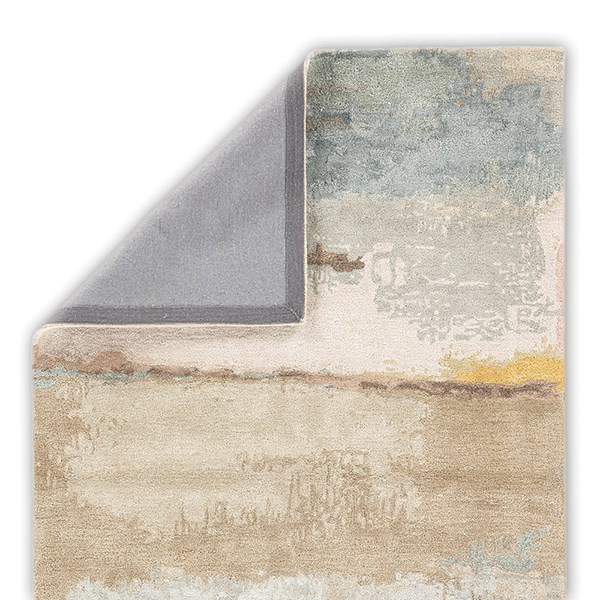 Tan, Yellow (GES-24) Abstract Area Rug