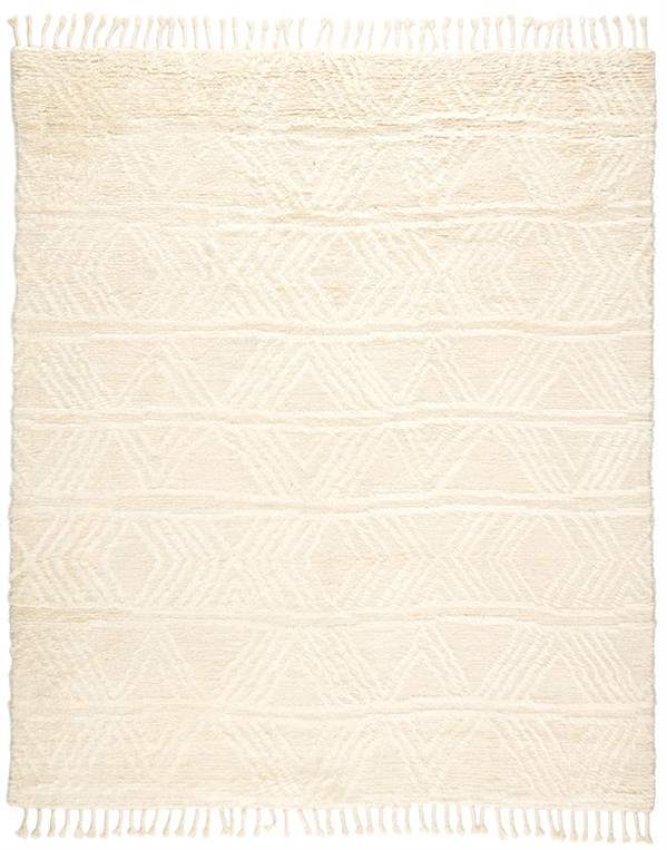Cream (TAL-07) Moroccan Area Rug