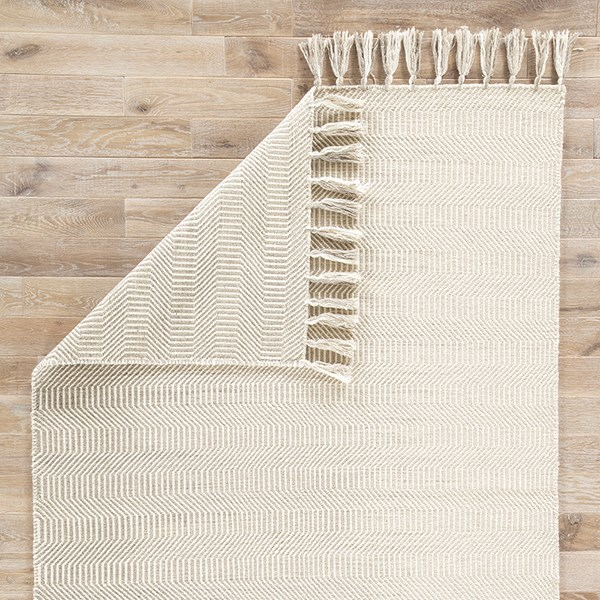 Ivory, Light Gray (ADA-01) Casual Area Rug