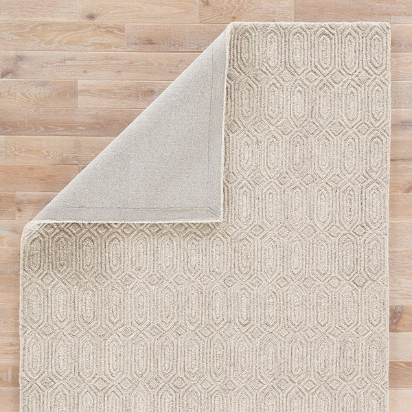 Beige (AOS-04) Textured Solid Area Rug