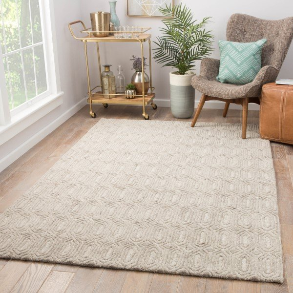 Beige (AOS-04) Solid Area Rug