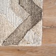 Product Image of Brown, Gray (CAP-02) Geometric Area Rug