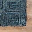 Product Image of Blue, Brown (CAP-01) Geometric Area Rug