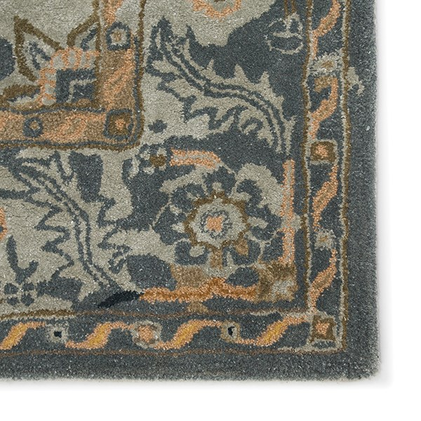 Gold, Gray (CIT-05) Traditional / Oriental Area Rug