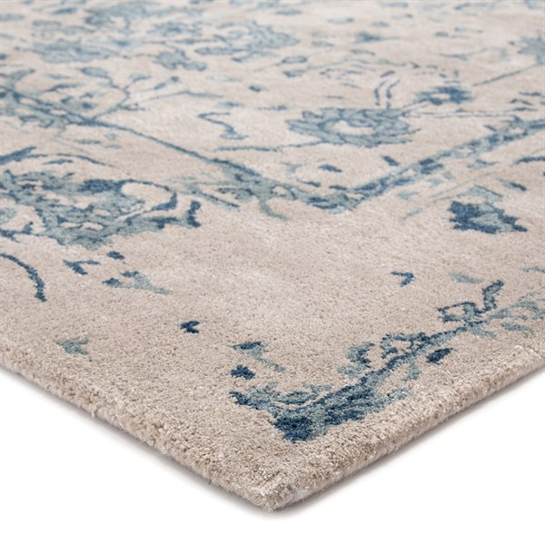 Light Gray Transitional Area Rug