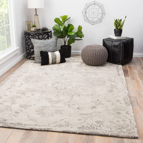 Taupe, Gray (CIT-02) Vintage / Overdyed Area Rug