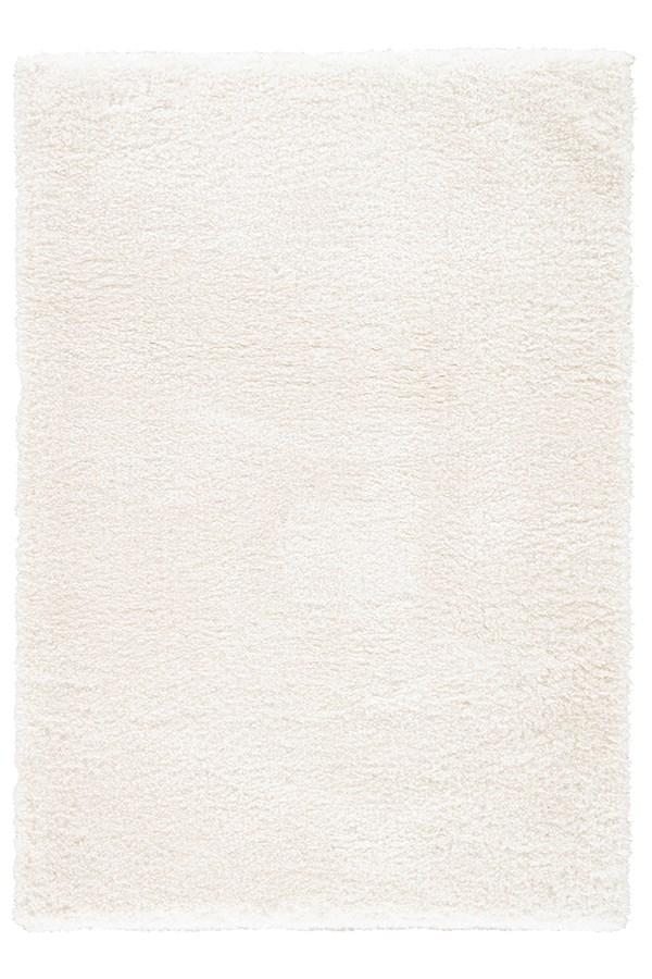 White (GIS-01) Shag Area Rug