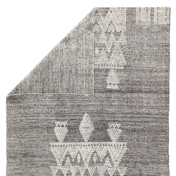 Black, Ivory (RIZ-01) Southwestern / Lodge Area Rug