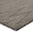 Product Image of Gray, Aqua (SIV-04) Chevron Area Rug