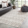 Product Image of Ivory, Light Gray (AZL-04) Contemporary / Modern Area Rug