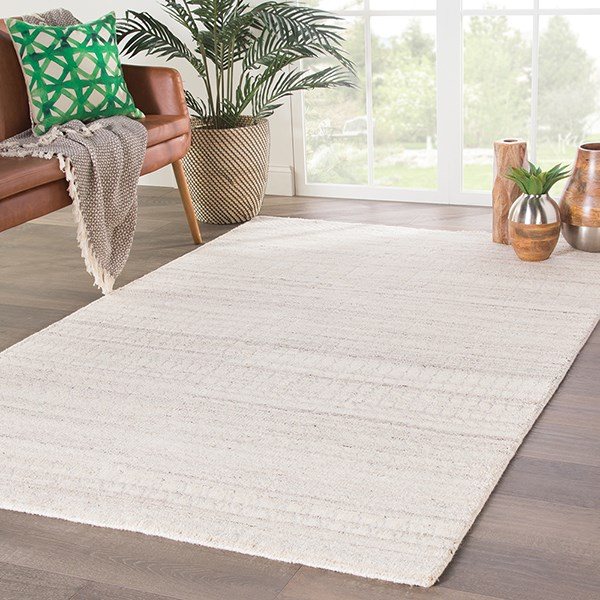 Ivory, Silver (AZL-03) Casual Area Rug