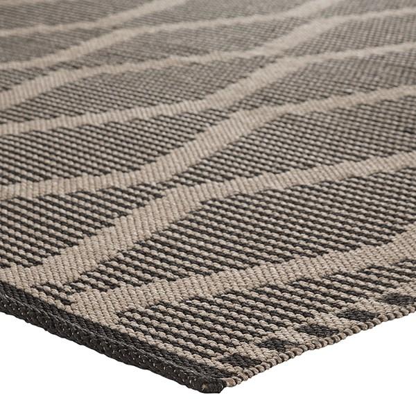 Beige, Black (CNC-02) Outdoor / Indoor Area Rug