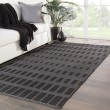 Product Image of Gray, Black (CNC-01) Outdoor / Indoor Area Rug