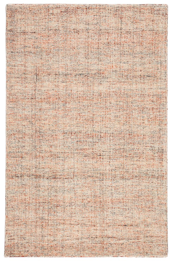 Orange, Ivory (CTG-01) Casual Area Rug