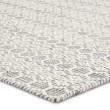 Product Image of White, Gray (ENC-01) Geometric Area Rug