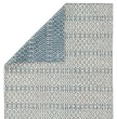 Product Image of Blue, Beige (ENC-02) Geometric Area Rug