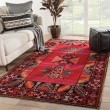 Product Image of Red, Black (POL-19) Southwestern / Lodge Area Rug