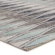 Product Image of Gray, Blue (POL-02) Outdoor / Indoor Area Rug