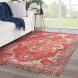 Product Image of Red, Blue (POL-06) Outdoor / Indoor Area Rug