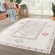 Product Image of Ivory (POL-10) Outdoor / Indoor Area Rug
