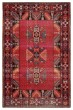 Product Image of Southwestern Red, Black (POL-19) Area Rug