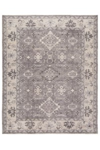 Hand-Knotted Black & Grey Area Rugs