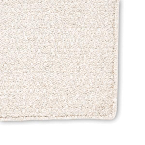 Cream, Ivory (POE-03) Geometric Area Rug