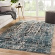 Product Image of Blue, Brown, Beige (AIR06) Contemporary / Modern Area Rug