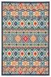 Product Image of Outdoor / Indoor Slate, Orange (BLZ-07) Area Rug