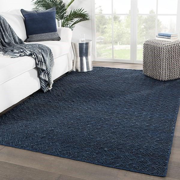 Blue (NTB-02) Natural Fiber Area Rug