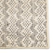 Product Image of Ivory, Black (NTB-03) Natural Fiber Area Rug