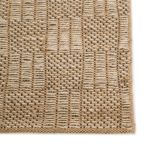 Black (NTB-06) Rustic / Farmhouse Area Rug