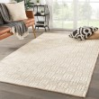Product Image of White, Beige (NTB-07) Natural Fiber Area Rug