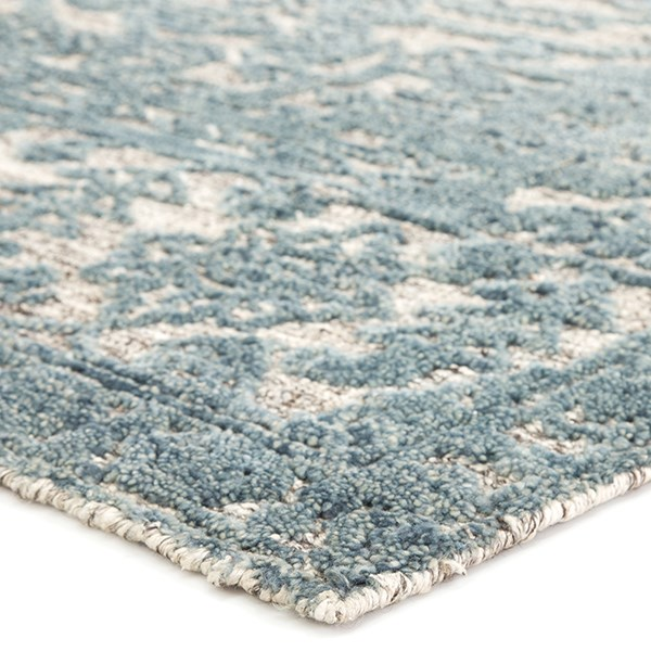 Blue, Ivory (REI-04) Traditional / Oriental Area Rug