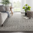 Product Image of Grey, Black (REI-11) Moroccan Area Rug