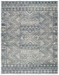 Product Image of Moroccan Blue, Ivory (REI08) Area Rug