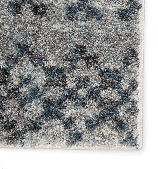 Blue, Grey (DAT-02) Moroccan Area Rug