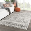 Product Image of Grey, Ivory (DAT-04) Moroccan Area Rug