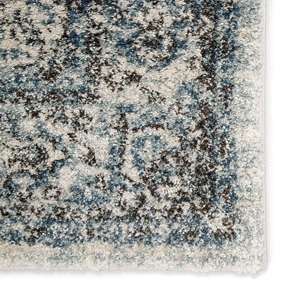 Ivory, Blue (DAT-08) Traditional / Oriental Area Rug