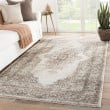 Product Image of Ivory, Brown (DAT-09) Traditional / Oriental Area Rug