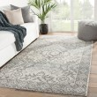 Product Image of Grey, Blue (DAT-10) Traditional / Oriental Area Rug