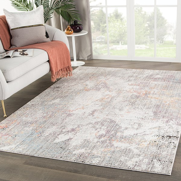 Light Grey (OST-03) Abstract Area Rug