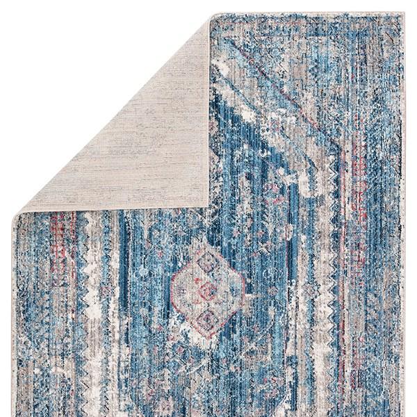 Blue, Grey (OST-04) Vintage / Overdyed Area Rug