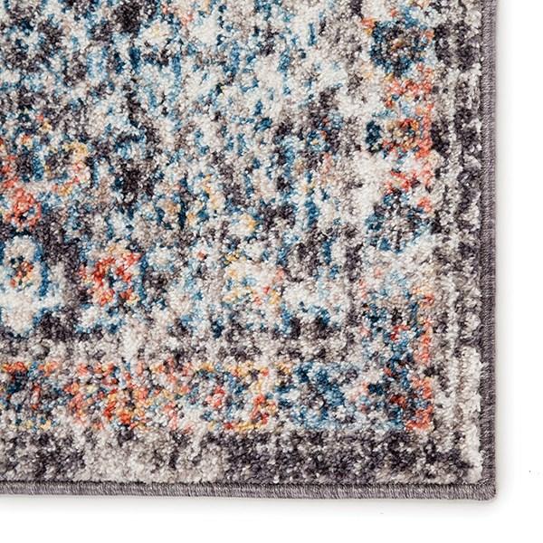 Black, Blue (OST-07) Vintage / Overdyed Area Rug