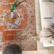 Product Image of Orange, Brown (PRD-07) Traditional / Oriental Area Rug