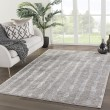 Product Image of Grey, White (TRS-10) Contemporary / Modern Area Rug