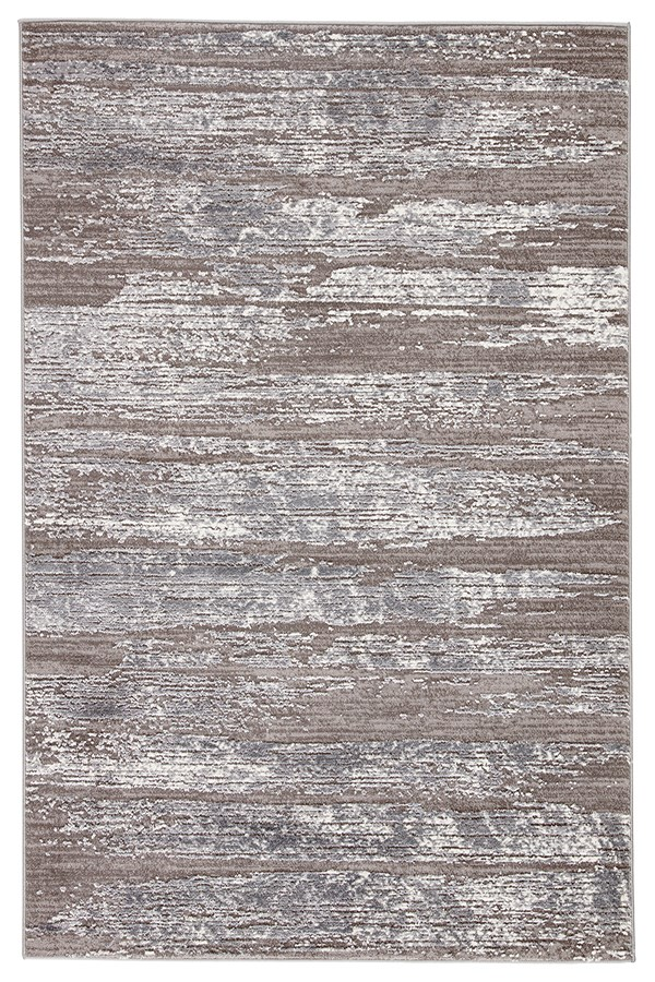 Light Grey, White (TRS-08) Abstract Area Rug